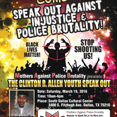 Speak Out Against Police Brutality