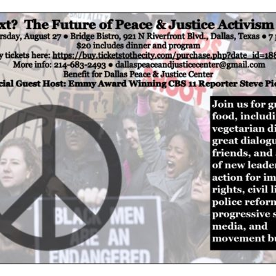 What Next - Future of Peace and Justice Activism 27 August 2015