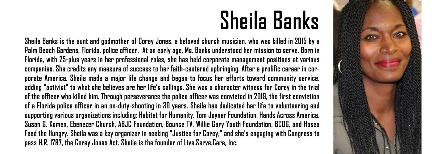 MAPB Fellow Sheila Banks Bio