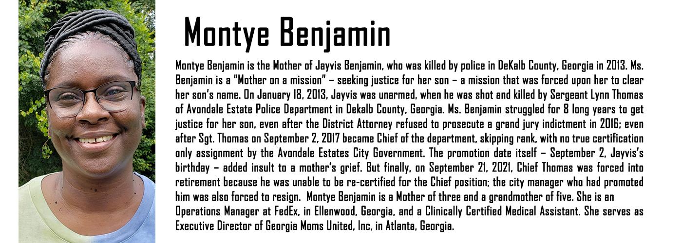 MAPB Fellow Bontye Benjamin Bio