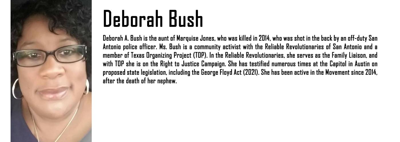 MAPB Fellow Deborah Bush Bio